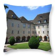 Ursulinen Convent - Macon Throw Pillow