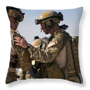 U.s. Air Force Pararescue Jumpers Throw Pillow