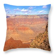 Us, Arizona, Grand Canyon, View Throw Pillow