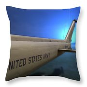 Us Army Helicopter Throw Pillow