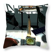 U.s.a. Aviation Inventions That Changed The World. Throw Pillow