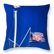 Us Flag 19749 Throw Pillow