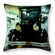 Us Mail Delivery  Throw Pillow
