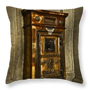 Us Mail Letter Box Throw Pillow