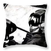 U.s. Marines Helicopter Pilot Throw Pillow