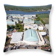 Us Naval Academy Throw Pillow
