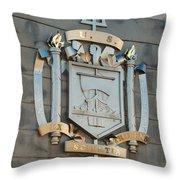 Us Naval Academy Insignia Throw Pillow