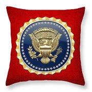 Presidential Service Badge - P S B Throw Pillow