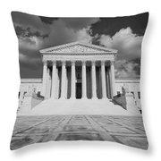 Us Supreme Court Throw Pillow