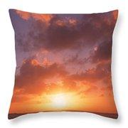 Usa, California, Pillar Point, View Throw Pillow