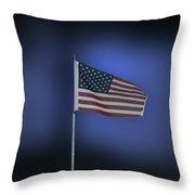 Usa Flag 09 Throw Pillow