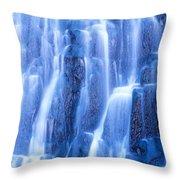 Usa, Wyoming, Yellowstone Park Throw Pillow