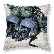 Usaf Gear Throw Pillow