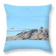 Usaf Thunderbirds Precision Flying Two Throw Pillow
