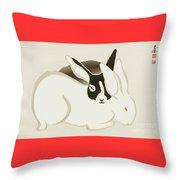 Usagi Throw Pillow