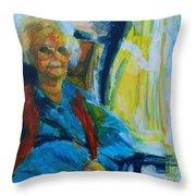 Use 2b So Ez - Alzheimer's Perch - The Long Good-bye Throw Pillow