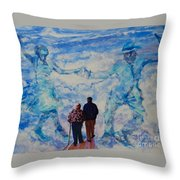 Use 2b So Ez - Still We Dance - The Long Good-bye Throw Pillow