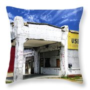 Used Cars Throw Pillow
