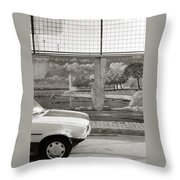 Uskudar Dreams Throw Pillow by Shaun Higson
