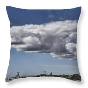 Uss Arizona Memorial-pearl Harbor V2 Throw Pillow
