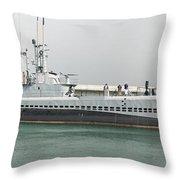 Uss Bowfin Ss-287 Throw Pillow