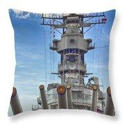 Uss Missouri-pearl Harbor Hawaii Throw Pillow