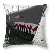 Uss Torsk Ss-423 Throw Pillow