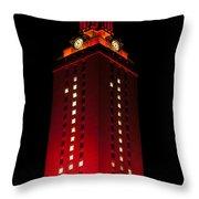 Ut Tower 1 Throw Pillow