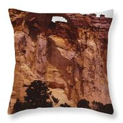 Utah Arch Throw Pillow