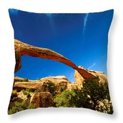 Utah Arches National Park  Throw Pillow