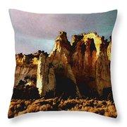 Utah Country 1 Throw Pillow