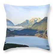 Utah Dawn Throw Pillow
