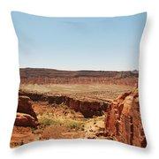 Utah Landscape 3 Throw Pillow