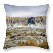 Utah Outback 43 Panoramic Throw Pillow