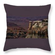 Utah Sentry Throw Pillow