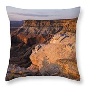 Utah Sunrise  Throw Pillow