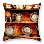 Utensils - In The Cupboard Throw Pillow