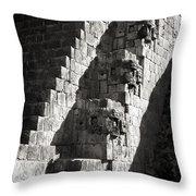 Uxmal Maya Ruins Throw Pillow