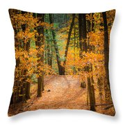 V For Victory Throw Pillow
