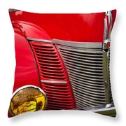 V8 - Another View Throw Pillow