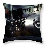 V8 Grill Throw Pillow
