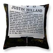 Va-wp13 Justin Holland Throw Pillow
