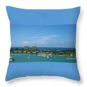 Vacation Throw Pillow