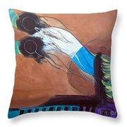 V'ahavtah Throw Pillow