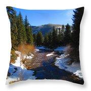 Vail Colorado Throw Pillow