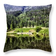 Vail Reflections 3 Throw Pillow