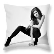 Val1 Throw Pillow