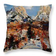 Valbona 2015 Throw Pillow