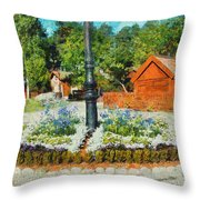 Valby Square Throw Pillow