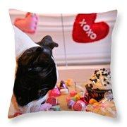 Valentine Be Mine Throw Pillow